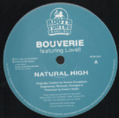 SALE ITEM - Bouverie ft. Lovell - Natural High / Natural High Remix (Roots Youths) 12""